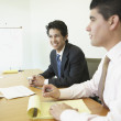 Stock Photo: Businessmen at meeting