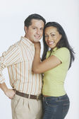 Young couple posing for the camera — Stock Photo