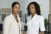 Portrait of African businesswomen in office — Stock Photo