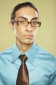 Mellanöstern affärsman bär glasögon — Stockfoto