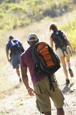 Group of friends hiking — Stock Photo