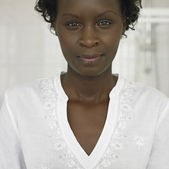 Close up of African woman — Stock Photo