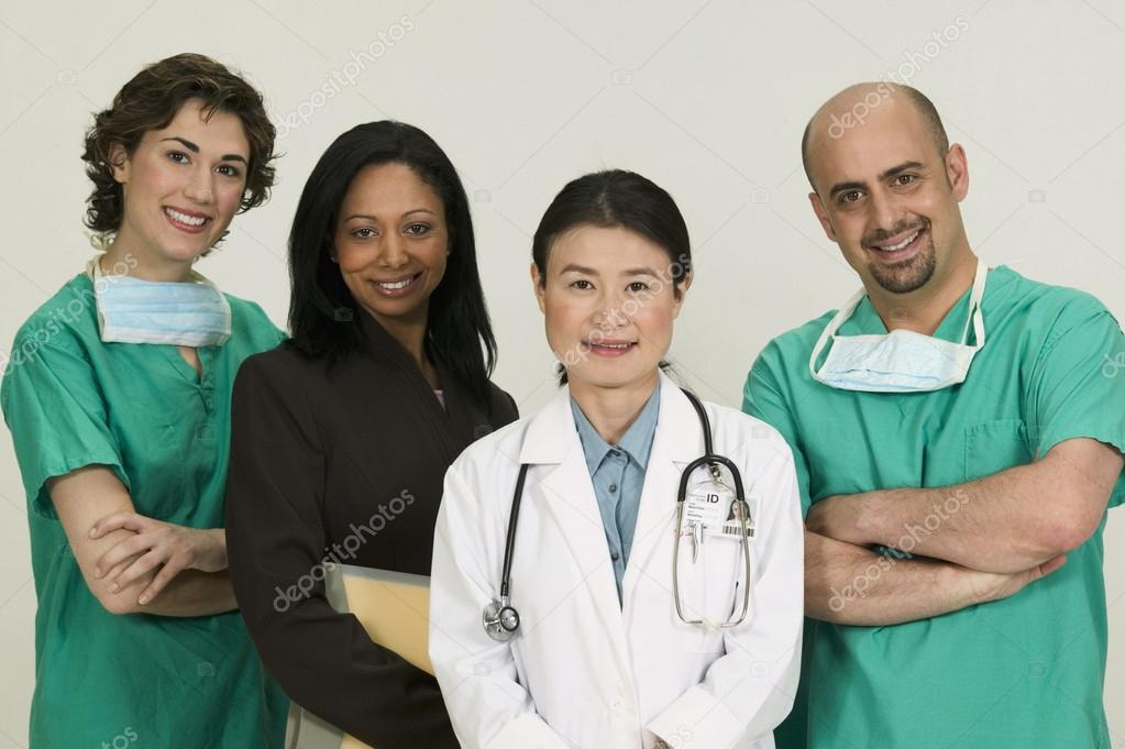 Group of doctors — Stock Photo #13239281