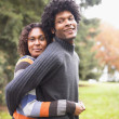 Couple hugging — Stock Photo #18575561