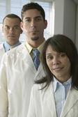 Group portrait of doctors — Stock Photo