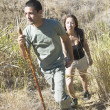 Couple hiking — Stock Photo #23218768