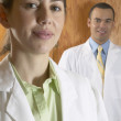 Portrait of doctors — Stock Photo