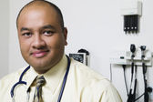 Close up portrait of male doctor — Stock Photo