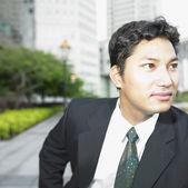 Businessman looking away — Stock Photo