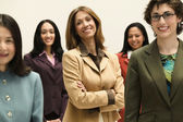 Group of businesswomen — Stock Photo