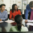 Businesspeople in meeting — Stock Photo