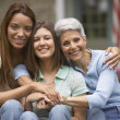 Stock Photo: Three generations of women