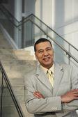 Portrait of a smiling businessman — Stock Photo