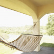 Stock Photo: Empty hammock