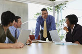 Businesspeople having a meeting — Stock Photo
