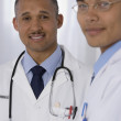 Portrait of multi-ethnic doctors — Foto de Stock
