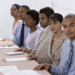 Multi-ethnic businesspeople at meeting — Stock Photo #23279094