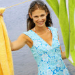 Young woman at beach — Stock Photo #23279194