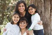 Multi-generational Hispanic female family members — Stock Photo