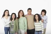 Portret rodziny hiszpanin — Zdjęcie stockowe