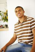 Portrait of young Hispanic man — Stock Photo