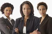 Portrait of multi-ethnic businesswomen — Stock Photo