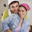 Middle Eastern couple hugging — Stock Photo #23306290