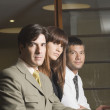 Group of multi-ethnic businesspeople — Stock Photo
