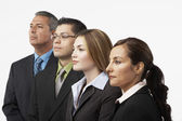 Group of Hispanic businesspeople — Stock Photo
