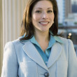 Portrait of Hispanic businesswoman — Stockfoto