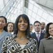 Portrait of multi-ethnic businesspeople — Stock Photo