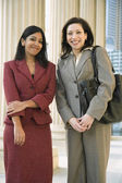 Portrait of Multi-ethnic businesswomen — Stock Photo