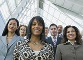 Portrait of multi-ethnic businesspeople — Stock Photo