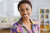 Portrait of African businesswoman — Stock Photo