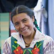 Portrait of indigenous Mexican woman — Stock Photo #23325178