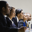 Multi-ethnic businesspeople at meeting — Stock Photo #23325940