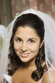 Portrait of Hispanic bride — Stock Photo
