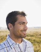Pacific Islander man in sunlight — Stock Photo