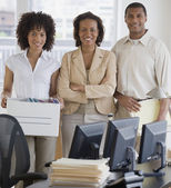 African business starting new business — Stock Photo