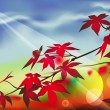 Royalty-Free Stock Imagen vectorial: Autumn_forest
