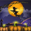 Royalty-Free Stock Vector Image: Halloween_Witch_2