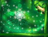 Christmas card — Stockvektor