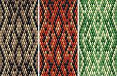 Seamless snakeskin pattern — Stock Vector