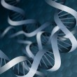 Stock Photo: Double helix dnbackground