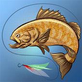 The big fish — Stock Photo