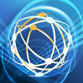 Cyber espace — Vecteur