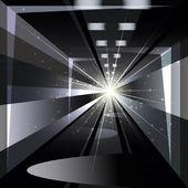 De tunnel — Stockvector