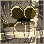 Movie art — Stock Vector