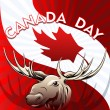 Canada Day card — Stock Vector #45539135