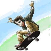 Skate — Vetor de Stock